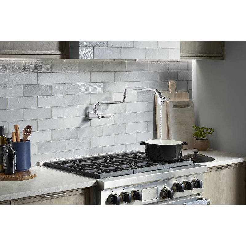 Wall Mount Pot Filler Faucet