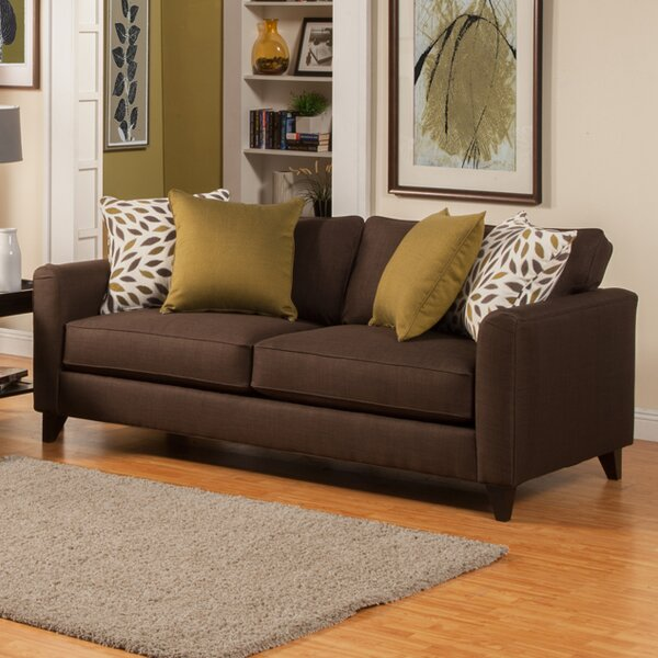 Amberley Contemporary Flared Arm Sofa by Darby Home Co