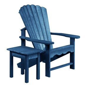 Zander Adirondack Chair With Table Set