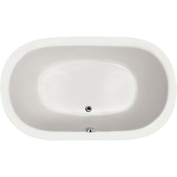 Designer Lorraine 74 x 44 Soaking Bathtub by Hydro Systems