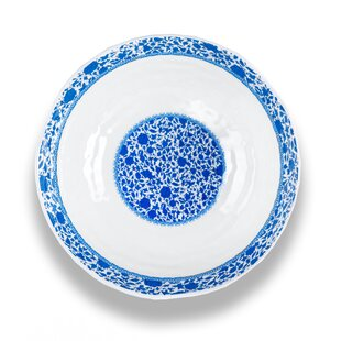 Bookout Melamine Serving Bowl by Three Posts