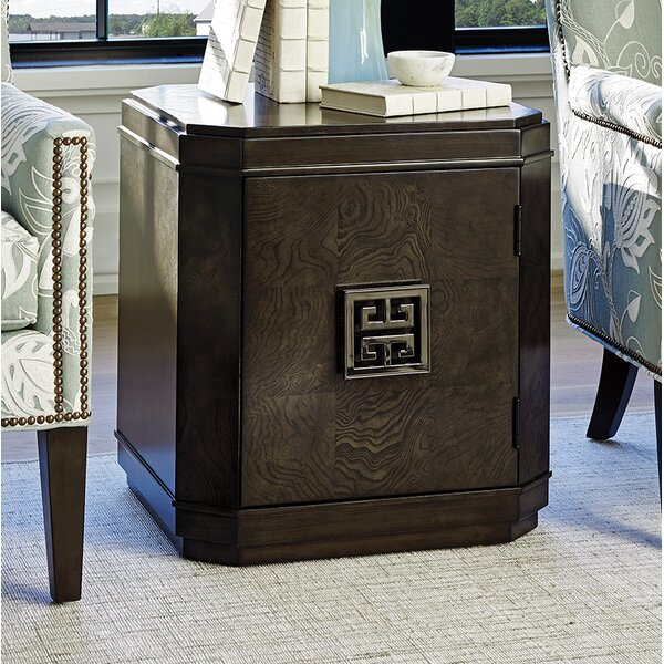 Brentwood End Table with Storage by Barclay Butera