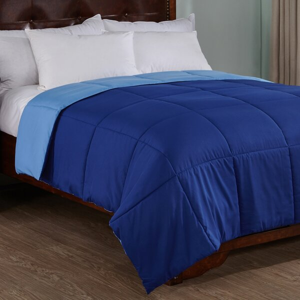 Buckwalter Lightweight Reversible Down Alternative Comforter by Ebern Designs
