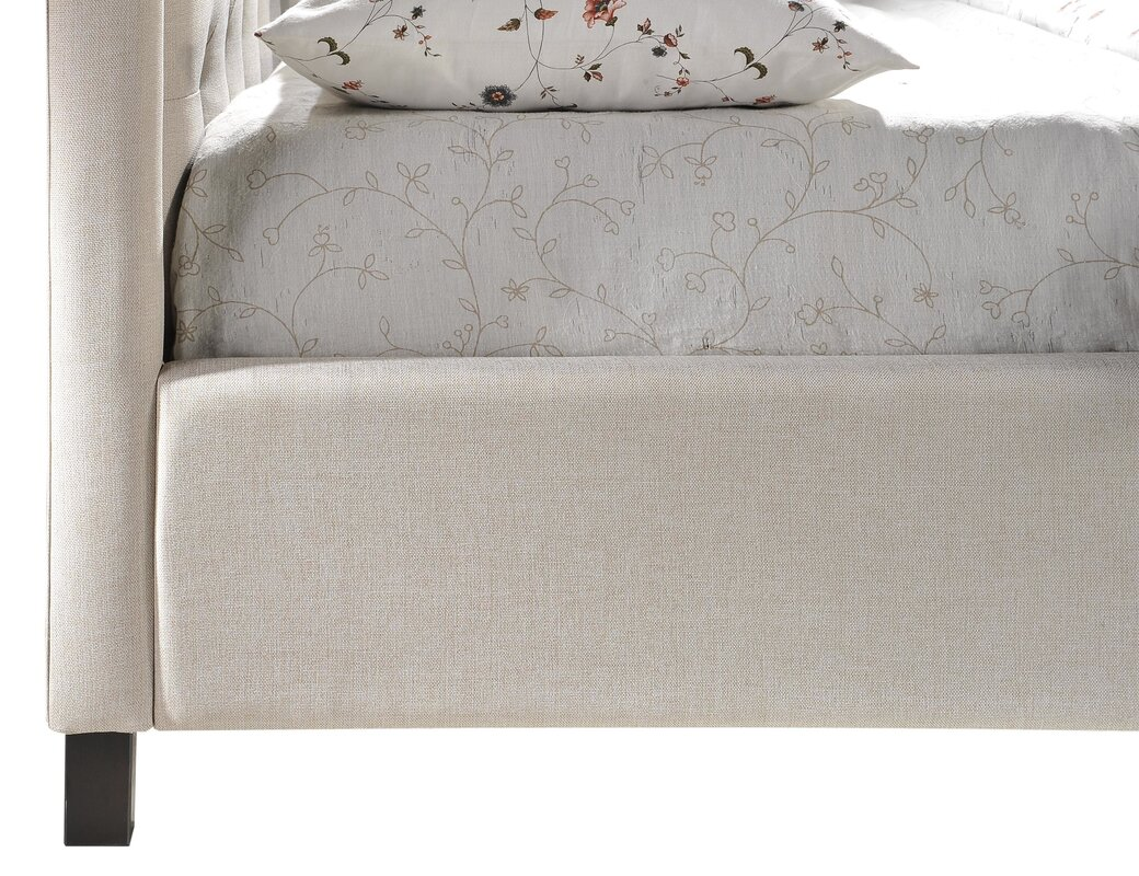 LuXeo Camden King Upholstered Panel Bed & Reviews
