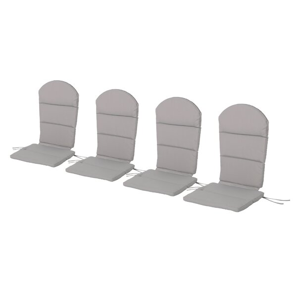 Outdoor Adirondack Chair Cushion (Set of 4) by Winston Porter