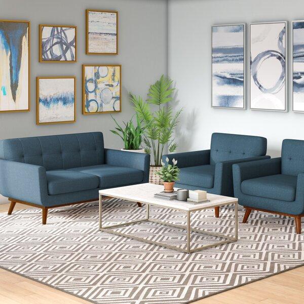 Saginaw 3 Piece Living Room Set by Corrigan Studio Corrigan Studio