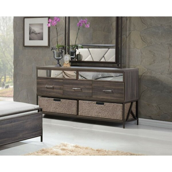 Pataskala Wood 5 Drawer Double Dresser by Ivy Bronx