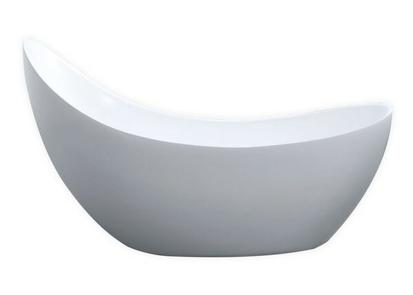 Salto 67 x 30 Soaking Bathtub by Kube Bath