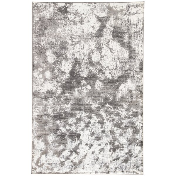 Shaelyn Off-White/Gray Area Rug by Ebern Designs| @ $67.00