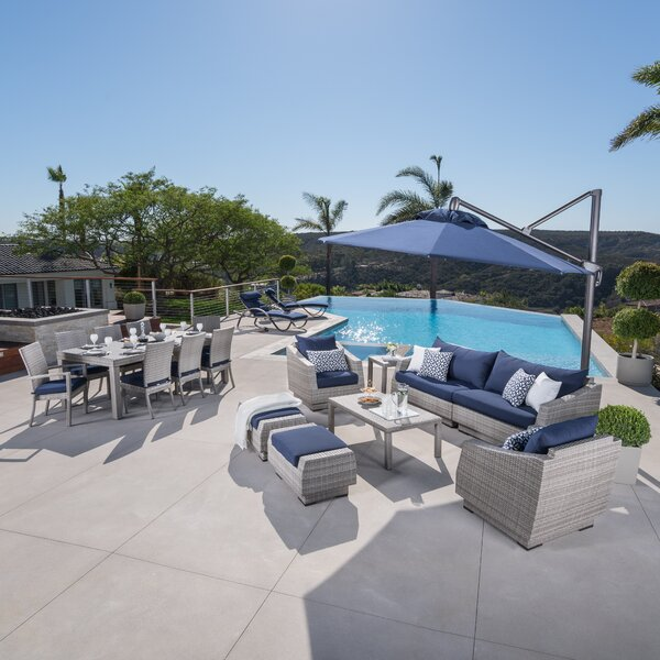 Castelli Patio 20 Piece Complete Patio Set with Cushions by Wade Logan
