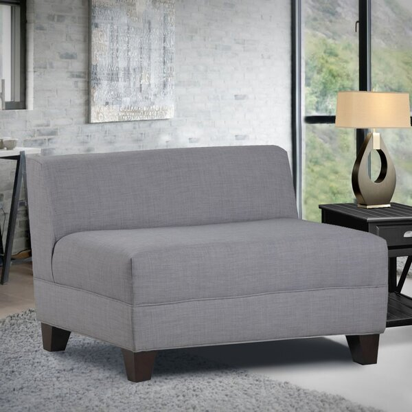 Woodhouse Armless Loveseat by Latitude Run