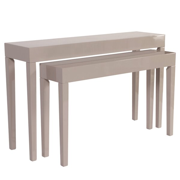 Fredrickson 2 Piece Console Table Set By Latitude Run