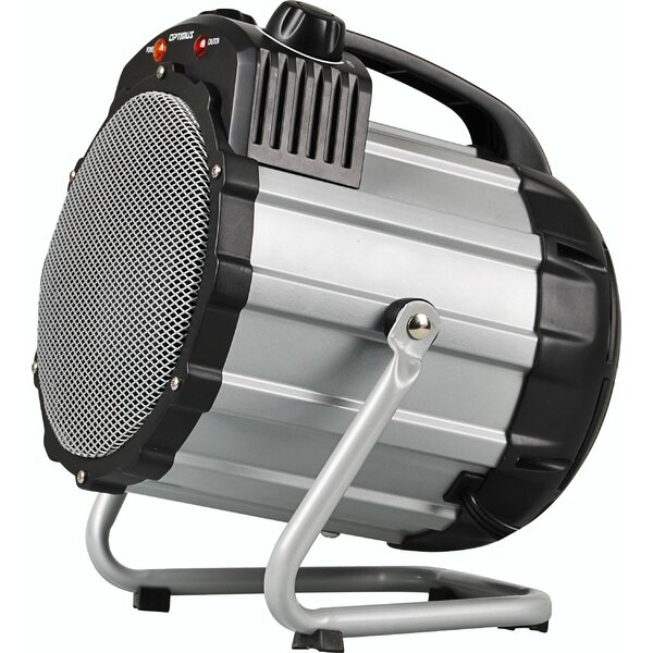 Fan Forced Utility Portable and Shop Space Heater with Thermostat by Optimus