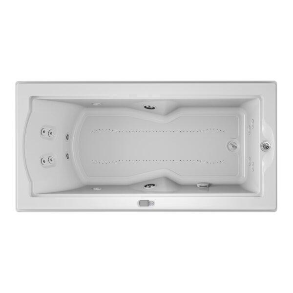 Fuzion Illuma LCD Right-Hand 72 x 36 Drop-In Salon Bathtub by Jacuzzi®
