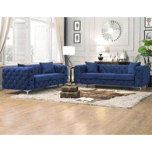 Theodosia 2 Piece Living Room Set by Rosdorf Park