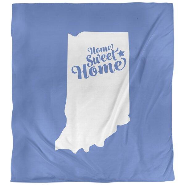 Fort Wayne Home Sweet Single Duvet Cover
