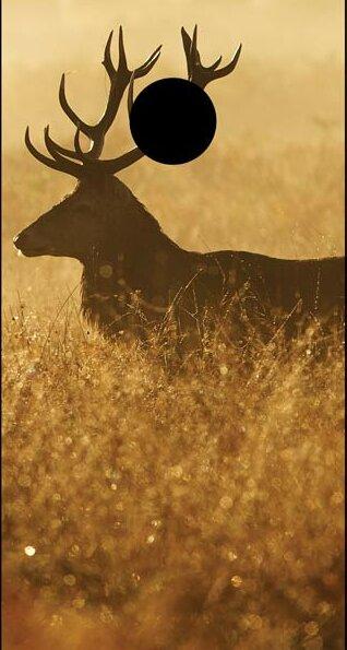 Elk in the Wild Cornhole Board by Lightning Cornhole