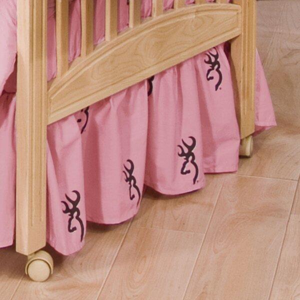 Buckmark Crib Skirt by Browning