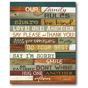 'Our Family' Textual Art on Wrapped Canvas by Winston Porter