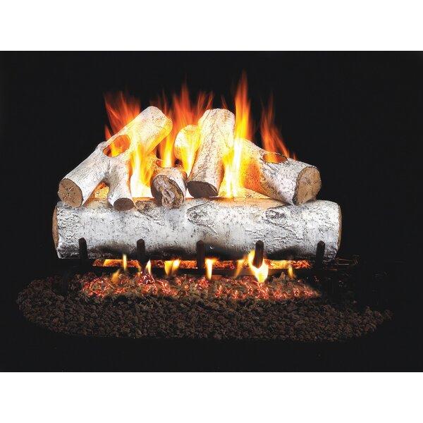 Designer Series Natural Gas Logs By Real Fyre