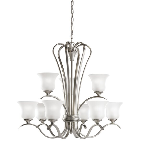 Barile 9-Light Shaded Classic / Traditional Chandelier By Alcott Hill