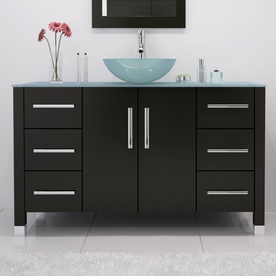 Fichter 47 Single Bathroom Vanity Set by Wrought Studio
