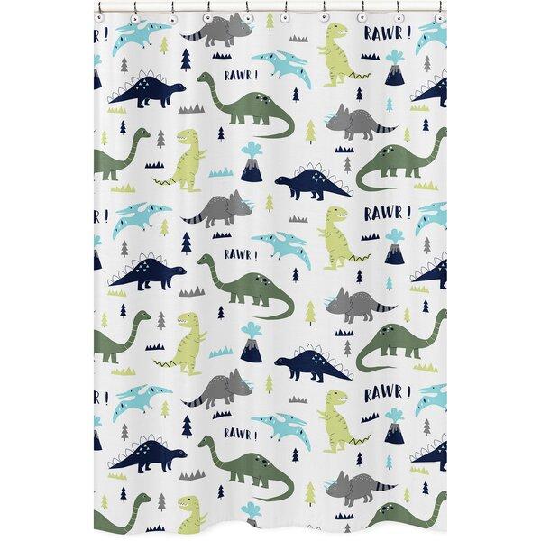 Mod Dinosaur Shower Curtain by Sweet Jojo Designs