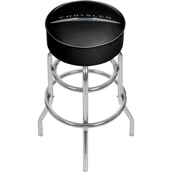 Chrysler 31 Swivel Bar Stool by Trademark Global