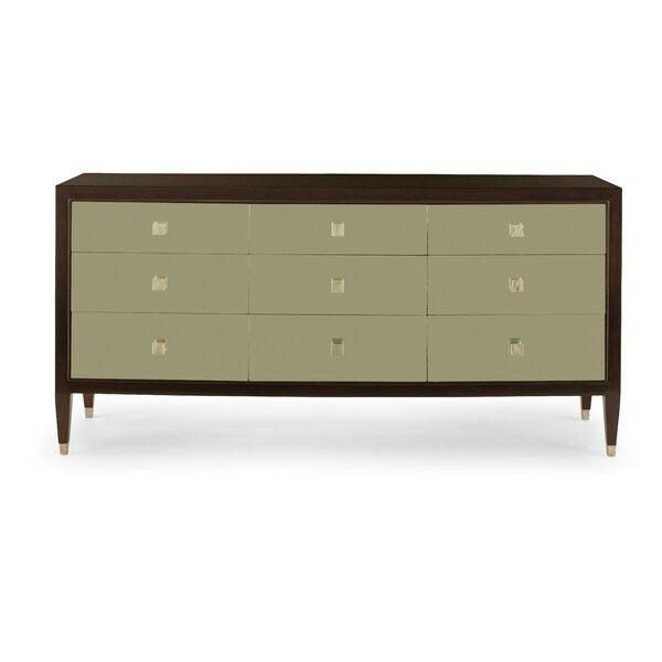 Aurelia 9 Drawer Standard Dresser by Bernhardt