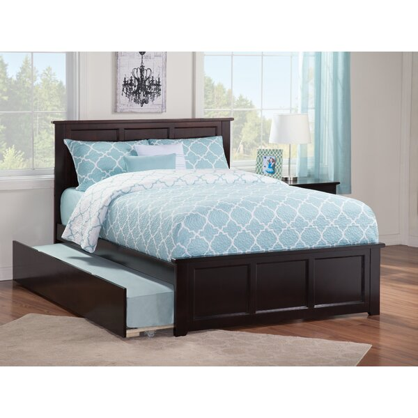 Alanna Full Platform Bed with Trundle by Harriet Bee