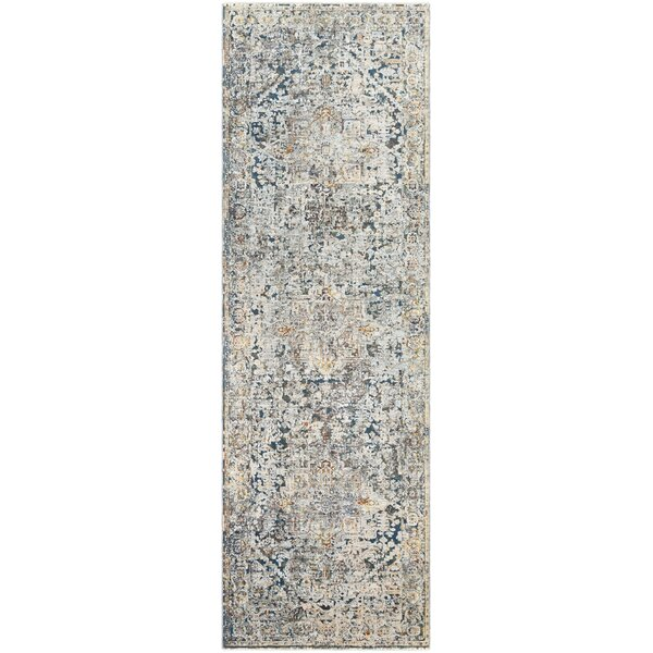Mckeel Gray/Blue Area Rug