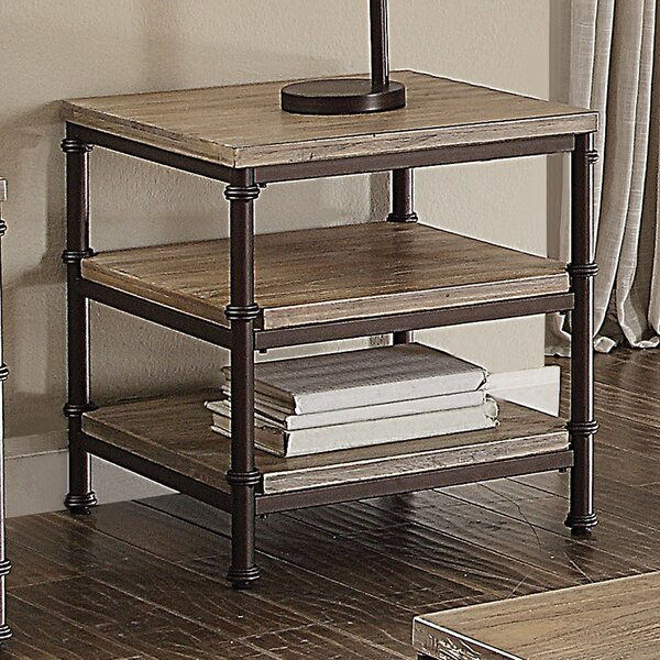 Salcombe End Table by Three Posts