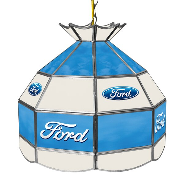 Ford 1-Light Pool Table Lights Pendant by Trademark Global