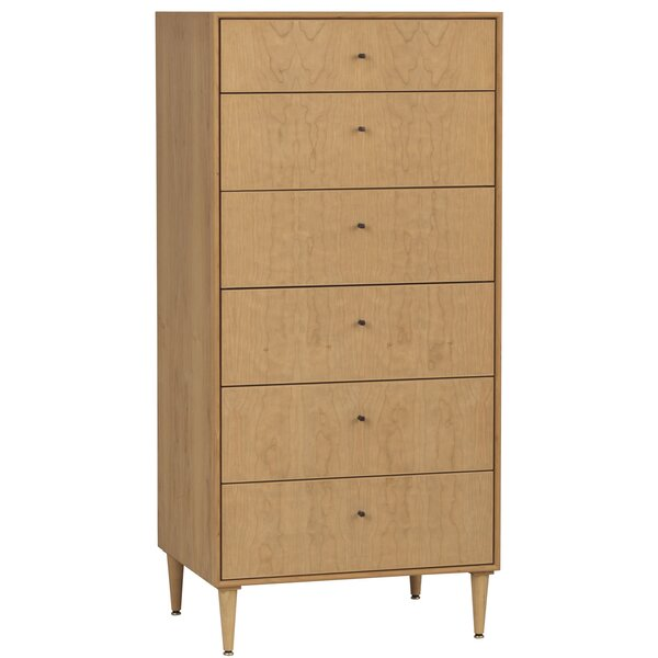 Wirth 6 Drawer Chest By Corrigan Studio by Corrigan Studio New