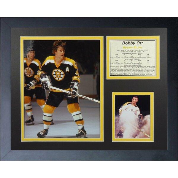 Bob Orr - Boston Bruins Framed Memorabilia by Legends Never Die