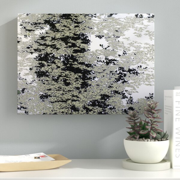 Marsh Abstract Photographic Print on Wrapped Canvas by Latitude Run