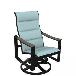 Brazo Padded Sling High Back Swivel Rocking Chair Tropitone