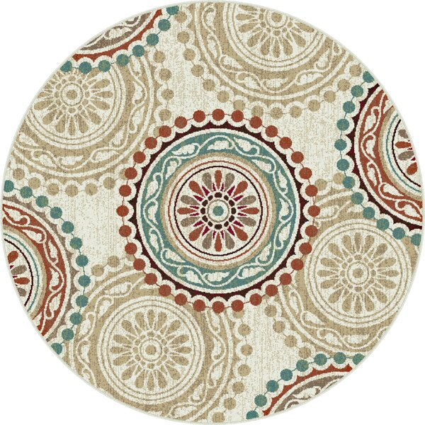 Dripping Springs Ivory Area Rug by Bloomsbury Market