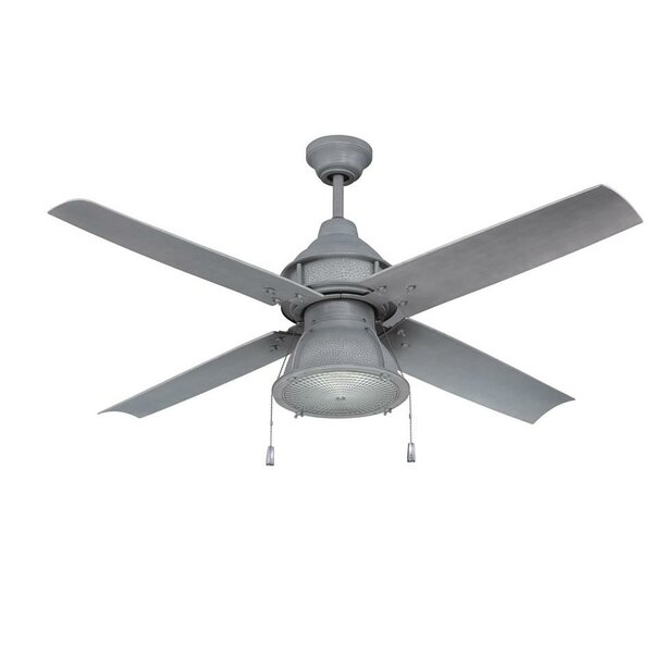 52 Martika 4 Blade Outdoor LED Ceiling Fan by 17 Stories