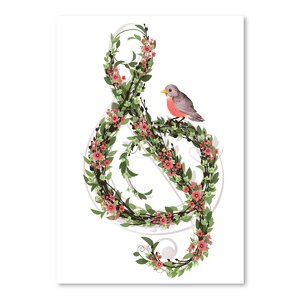 'Robins Song' Graphic Art Print by East Urban Home