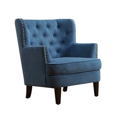 Astounding Laurel Foundry Modern Farmhouse Ivo Wingback Chair Short Links Chair Design For Home Short Linksinfo