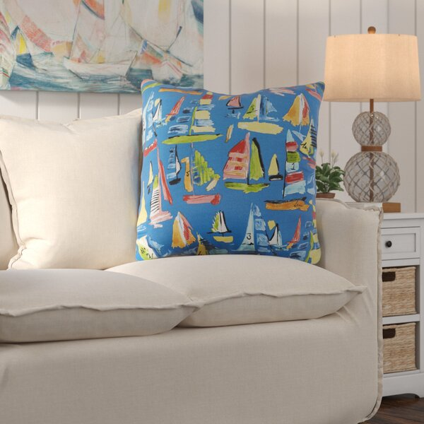 Wallon Indoor/Outdoor Floor Pillow by Longshore Tides