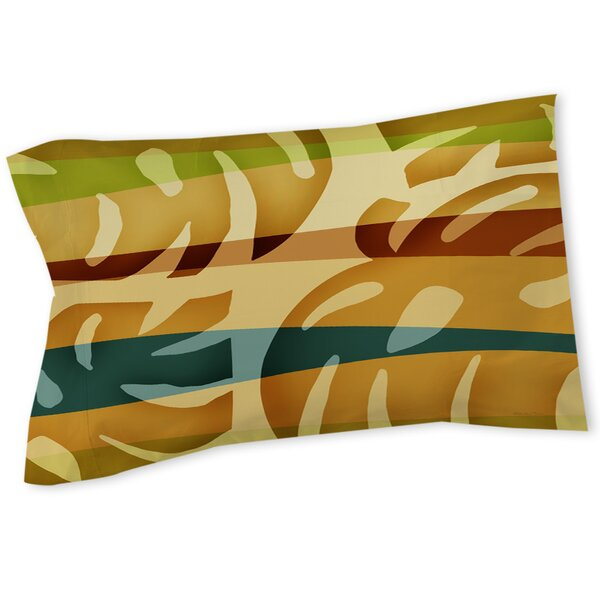 Tropical Leaf 1 Sham by Manual Woodworkers & Weavers