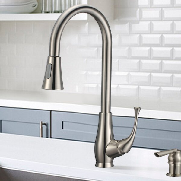 Single Handle Kitchen Faucet by Upscale Designs by EMA