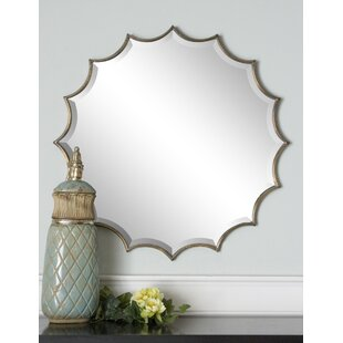 Mistana Valerie Starburst Vertical Wall Mirror