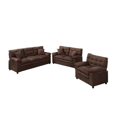 Groovy Foell 3 Piece Living Room Set Red Barrel Studio Upholstery Machost Co Dining Chair Design Ideas Machostcouk