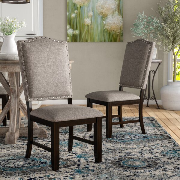 Rayan Upholstered Dining Chair (Set Of 2) By Charlton Home Charlton Home