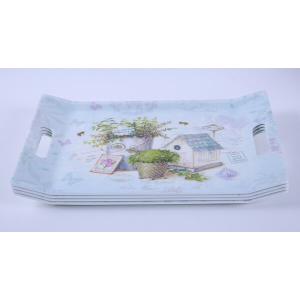 Melamine Serving Platter (Set of 4) by Shall Housewares International