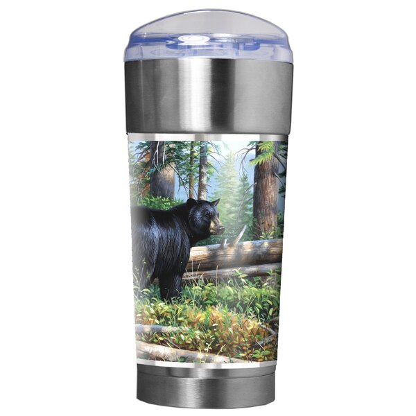 Black Bear Traditions 24 oz. Stainless Steel Travel Tumbler by Great American Products