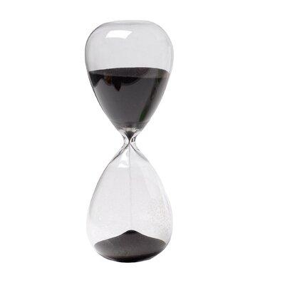 Seals 30-Minute Hourglass Wrought Studio Finish: Black